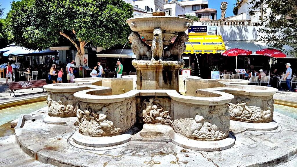 Morosini Fountain (Lion's Fountain), Heraklion