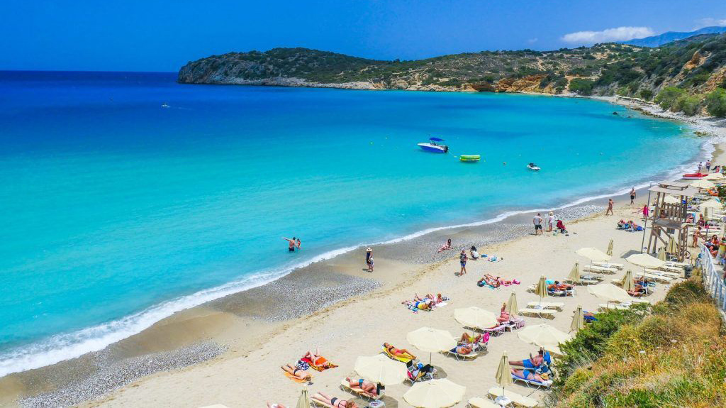 Voulisma Beach, Agios Nikolaos